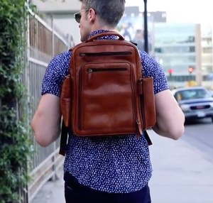 Leather Backpacks for Men Review